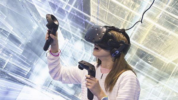 Gafas de realidad virtual para fiestas